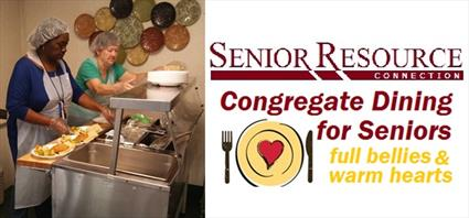 congregate dining for seniors graphic