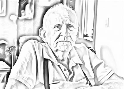 Image of elderly man