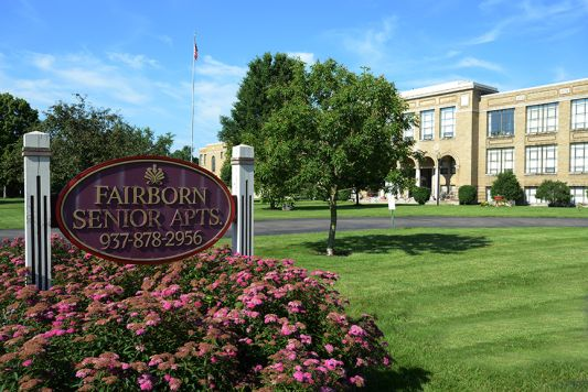 Fairborn Senior Apartments, grounds and interior