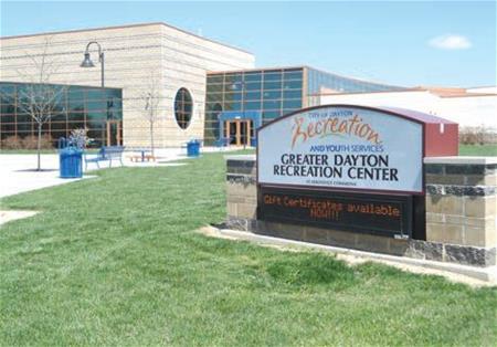 Greater Dayton Rec Center exterior